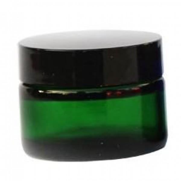 Pot en verre cosmétiques