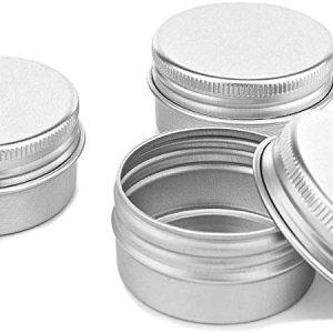 Contenant en métal rond 10 gr