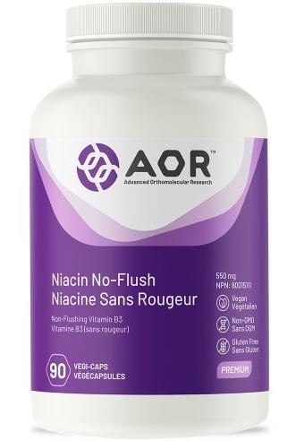 Niacine sans rougeur (Niacin No-Flush)