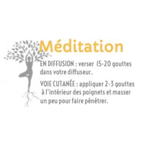 Synergie aromatique méditation